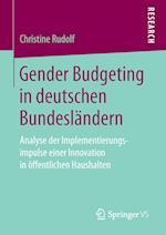 Gender Budgeting in Deutschen Bundeslandern