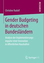 Gender Budgeting in deutschen Bundeslandern af Christine Rudolf