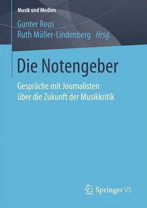 Bog, paperback Die Notengeber af Gunter Reus