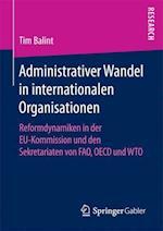 Administrativer Wandel in Internationalen Organisationen
