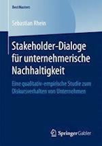 Stakeholder-Dialoge Fur Unternehmerische Nachhaltigkeit (Bestmasters)