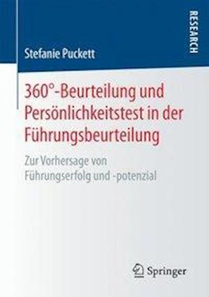 Bog, paperback 360-Beurteilung Und Personlichkeitstest in Der Fuhrungsbeurteilung af Stefanie Puckett