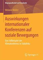 Auswirkungen Internationaler Konferenzen Auf Soziale Bewegungen (Burgergesellschaft und Demokratie)