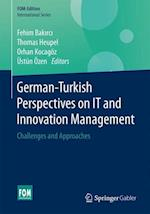 German-Turkish Perspectives on IT and Innovation Management (FOM Edition)