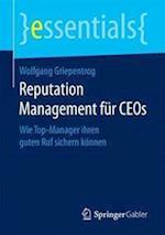 Reputation Management Fur Ceos (Essentials)