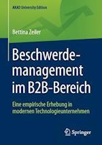 Beschwerdemanagement Im B2B-Bereich (Akad University Edition)