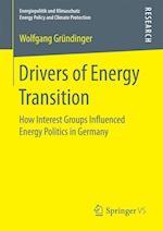 Drivers of Energy Transition af Wolfgang Grundinger