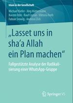 Lasset uns in shaE a Allah ein Plan machen' af Michael Kiefer, Andreas Zick, Rauf Ceylan