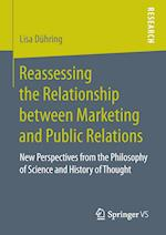 Reassessing the Relationship between Marketing and Public Relations : New Perspectives from the Philosophy of Science and History of Thought