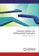 Lecture Notes on Differential Calculus
