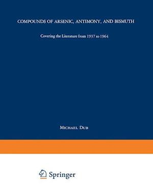 Compounds of Arsenic, Antimony, and Bismuth