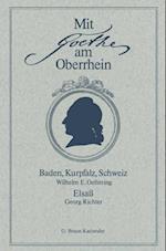 Mit Goethe am Oberrhein af Georg Richter, Wilhelm E. Oeftering