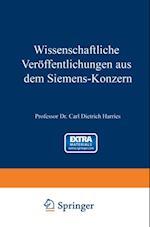 Wissenschaftliche Veroffentlichungen aus dem Siemens-Konzern af Viktor Engelhardt