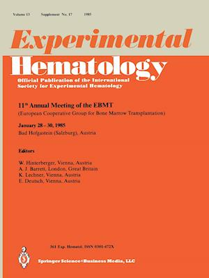 11th Annual Meeting of the Ebmt: European Cooperative Group for Bone Marrow Transplantation