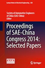 Proceedings of SAE-China Congress 2014 af Society of Automotive Engineers of China