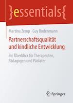 Partnerschaftsqualitat und kindliche Entwicklung af Guy Bodenmann