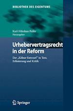 Urhebervertragsrecht in Der Reform
