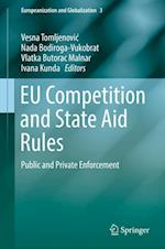EU Competition and State Aid Rules : Public and Private Enforcement