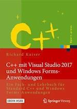 C++ Mit Visual Studio 2017 Und Windows Forms-Anwendungen (Xpert.press)