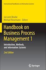 Handbook on Business Process Management 1 (International Handbooks on Information Systems)