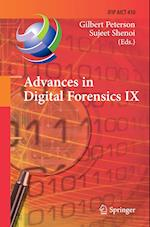 Advances in Digital Forensics IX (Ifip Advances in Information and Communication Technology, nr. 410)