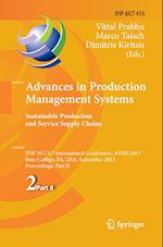 Advances in Production Management Systems. Sustainable Production and Service Supply Chains (Ifip Advances in Information and Communication Technology, nr. 415)