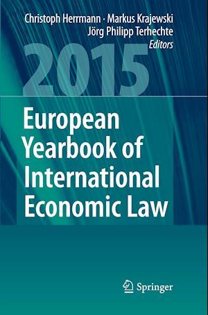 Bog, paperback European Yearbook of International Economic Law 2015 af Christoph Herrmann