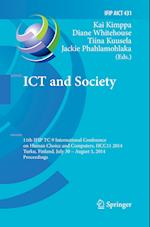 ICT and Society (Ifip Advances in Information and Communication Technology, nr. 431)