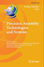 Precision Assembly Technologies and Systems (Ifip Advances in Information and Communication Technology, nr. 435)