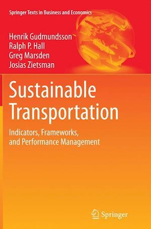 Bog, paperback Sustainable Transportation af Henrik Gudmundsson