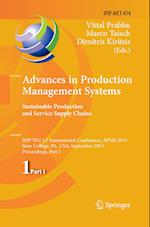 Advances in Production Management Systems. Sustainable Production and Service Supply Chains (Ifip Advances in Information and Communication Technology, nr. 414)