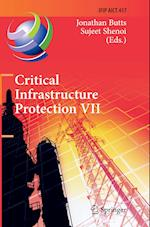 Critical Infrastructure Protection VII (Ifip Advances in Information and Communication Technology, nr. 417)