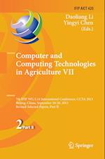 Computer and Computing Technologies in Agriculture VII (Ifip Advances in Information and Communication Technology, nr. 420)