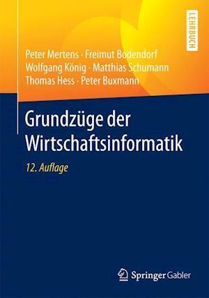 Bog, paperback Grundzuge Der Wirtschaftsinformatik af Peter Mertens, Freimut Bodendorf, Wolfgang Konig
