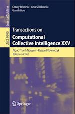 Transactions on Computational Collective Intelligence XXV (Lecture Notes in Computer Science)