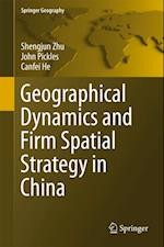 Geographical Dynamics and Firm Spatial Strategy in China (Springer Geography)