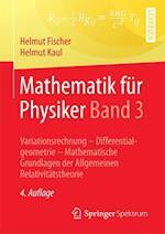 Mathematik Fur Physiker Band 3