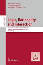 Logic, Rationality, and Interaction : 6th International Workshop, LORI 2017, Sapporo, Japan, September 11-14, 2017, Proceedings