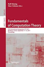 Fundamentals of Computation Theory : 21st International Symposium, FCT 2017, Bordeaux, France, September 11-13, 2017, Proceedings
