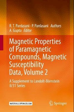Magnetic Properties of Paramagnetic Compounds, Magnetic Susceptibility Data, Volume 2