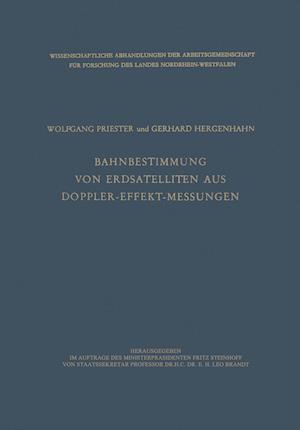 Bog, paperback Bahnbestimmung Von Erdsatelliten Aus Doppler-Effekt-Messungen af Wolfgang Priester