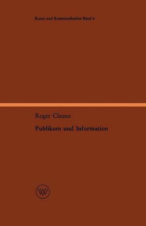 Publikum Und Information
