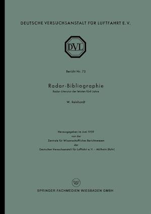 Radar-Bibliographie