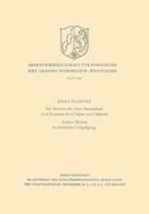 Bog, paperback Die Struktur Des Auto Sacramental Los Encantos de la Culpa Von Calderon. Antiker Mythos in Christlicher Umpragung af Hans Flasche