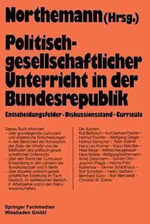 Politisch-gesellschaftlicher Unterricht in der Bundesrepublik
