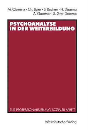 Psychoanalyse in der Weiterbildung