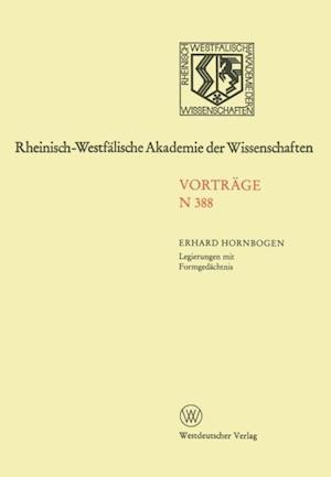 Legierungen mit Formgedachtnis af Erhard Hornbogen