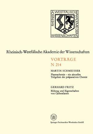 Plasmachemie - ein aktuelles Teilgebiet der praparativen Chemie. Bildung und Eigenschaften von Carbosilanen af Martin Schmeisser