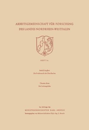 Die Problematik der Distribution / Der Leistungslohn af Rudolf Seyffert