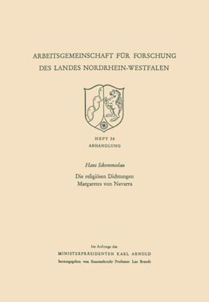 Die religiosen Dichtungen Margaretes von Navarra af Hans Sckommodau